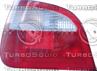 Megane car back light texture